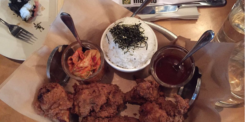 Seattle Ma'ono Fried Chicken and Whisk brunch