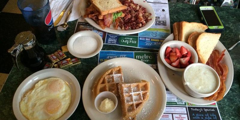 Jacksonville Metro Diner brunch