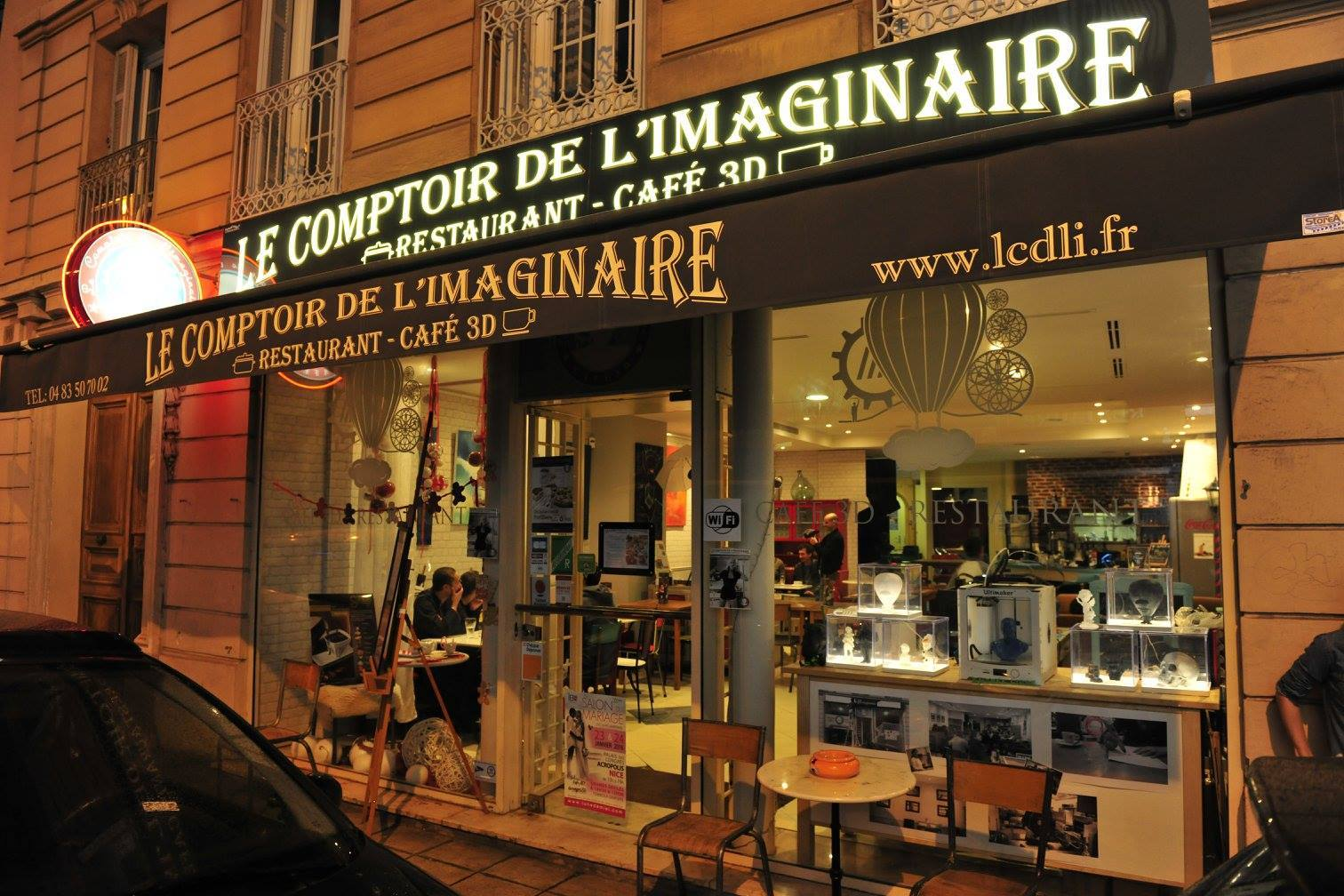 Brunch le comptoir de l 39 imaginaire 06000 nice oubruncher - Le comptoir general brunch ...