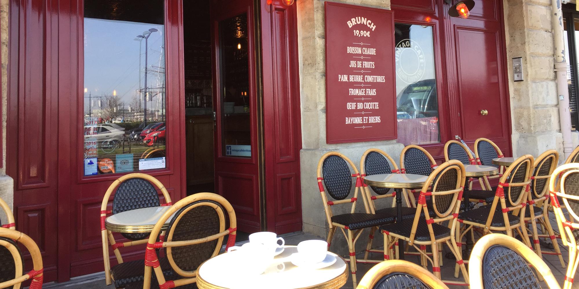 Restaurants o prendre le petit-djeuner et le brunch Bordeaux
