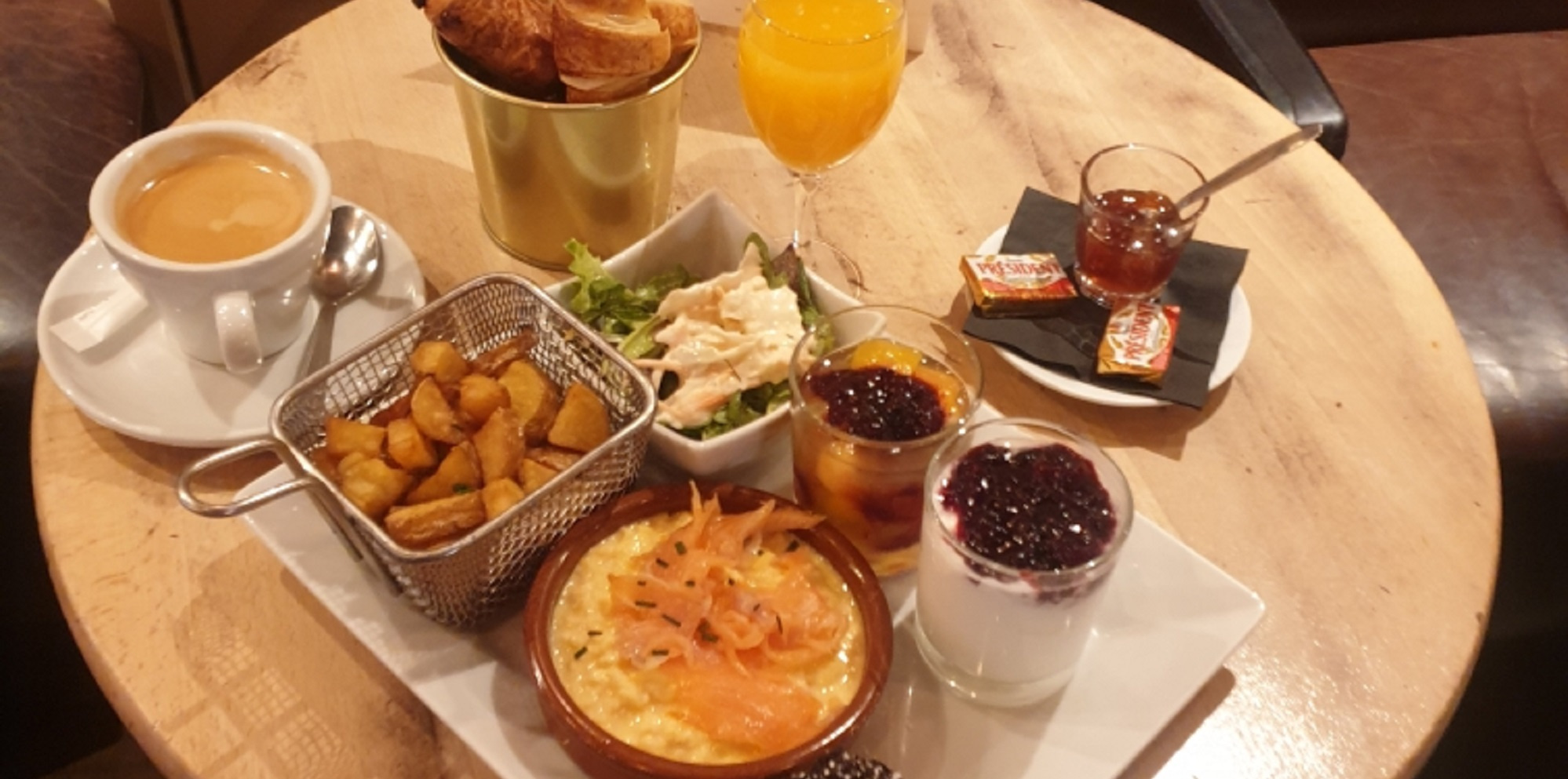 Brunch Café Livres (75004 Paris)
