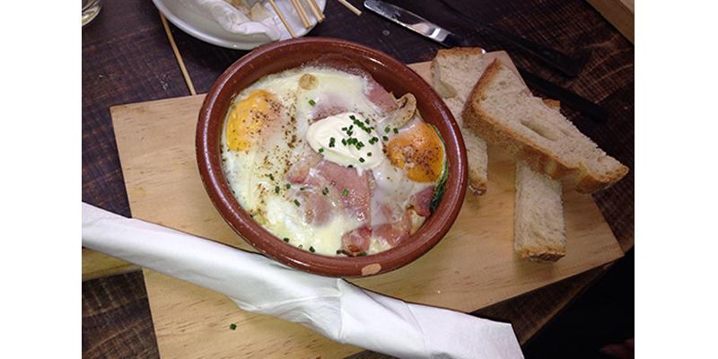 brunch Madrid La Bicicleta Café brunch