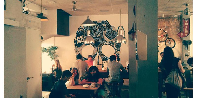 Madrid La Bicicleta Café brunch