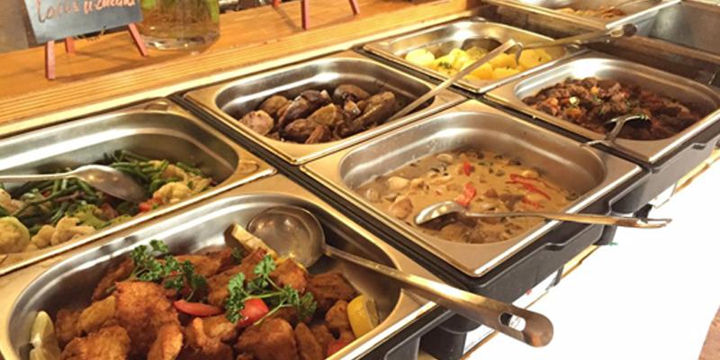 Berlin-Friedrichshain Restaurant Erdton brunch