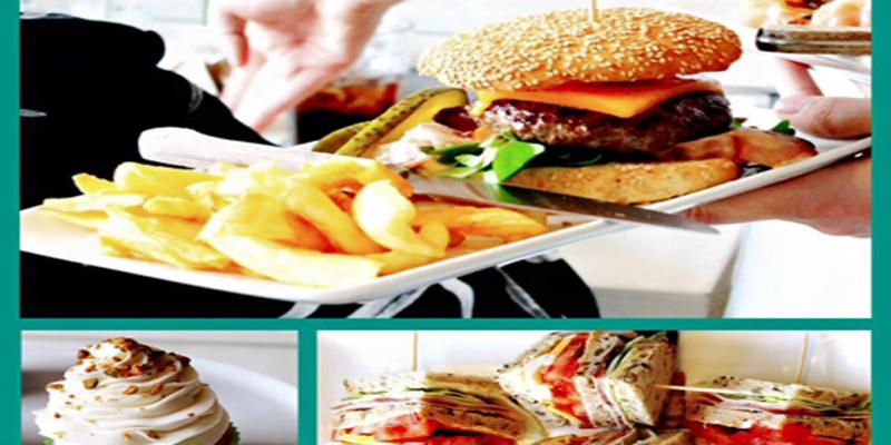 Monza Burger's family brunch
