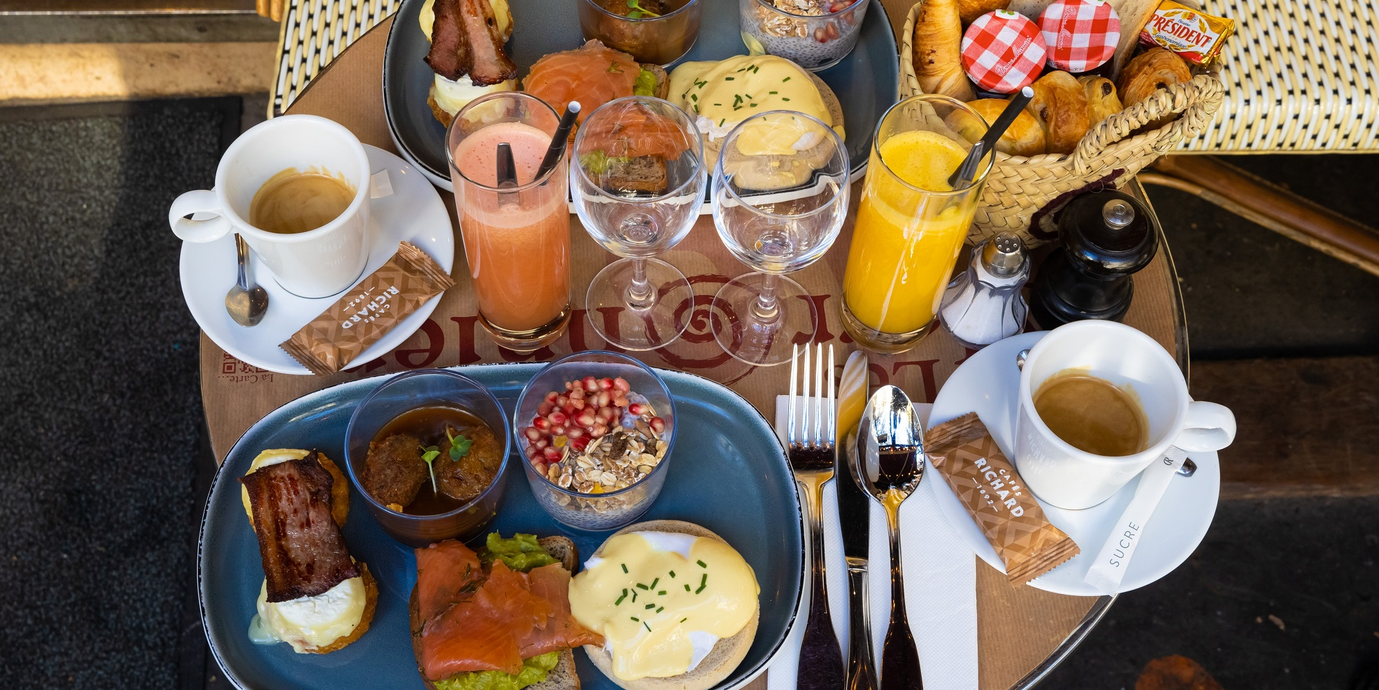 Brunch Les marronniers (75004 Paris)