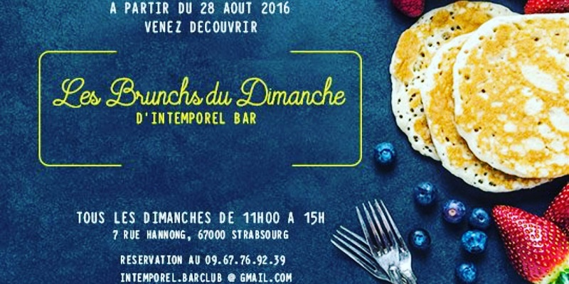 Brunch Intemporel Bar (67000 Strasbourg)