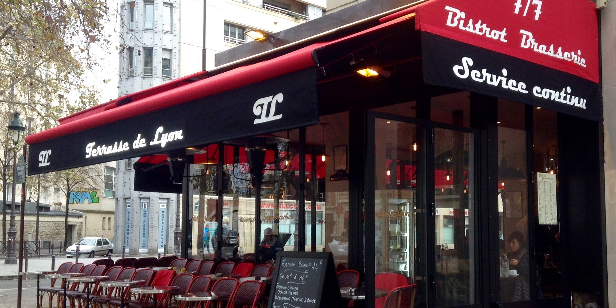 Brunch La terrasse de Lyon (75012 Paris)