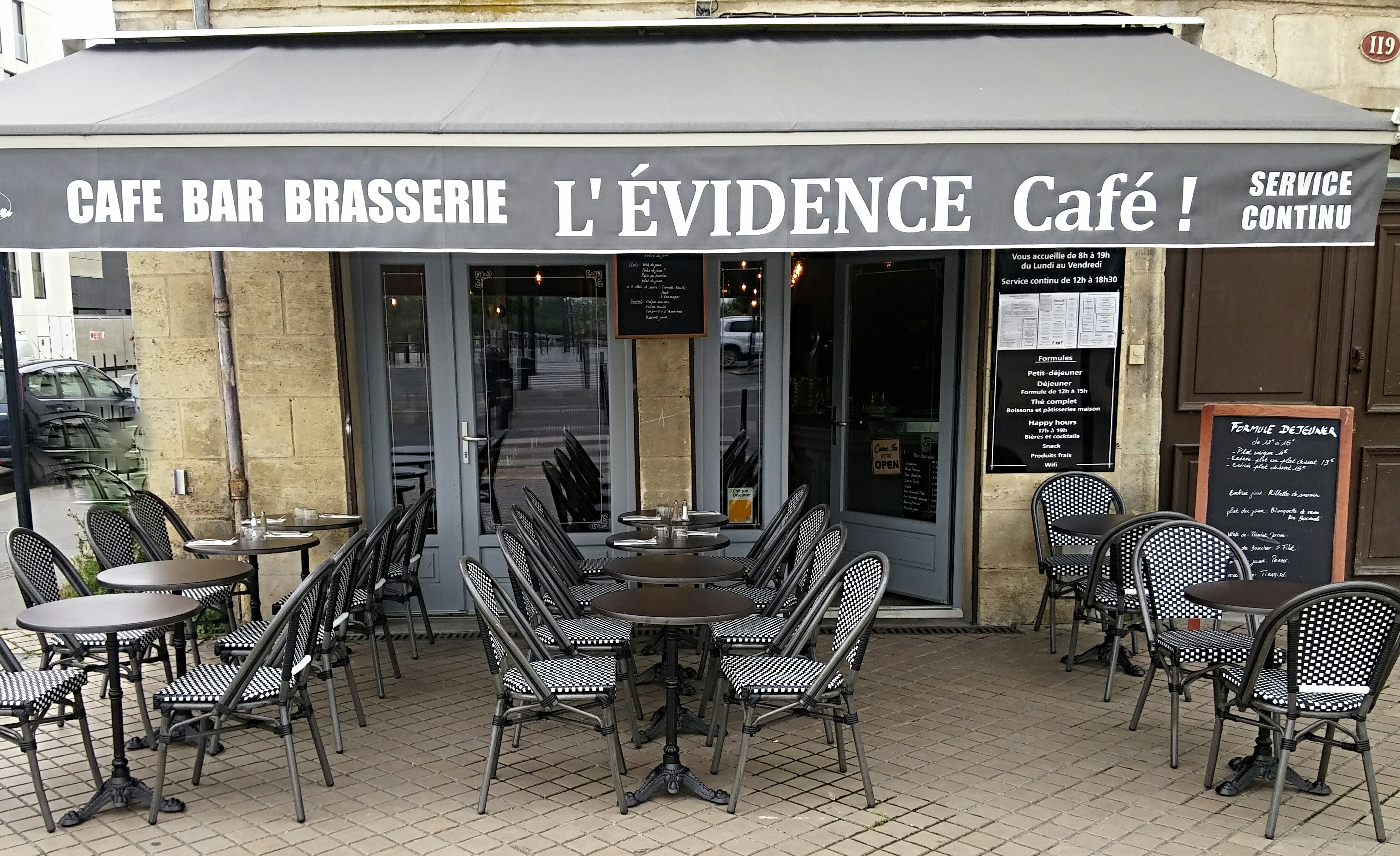 Brunch l'Évidence café (33000 BORDEAUX)