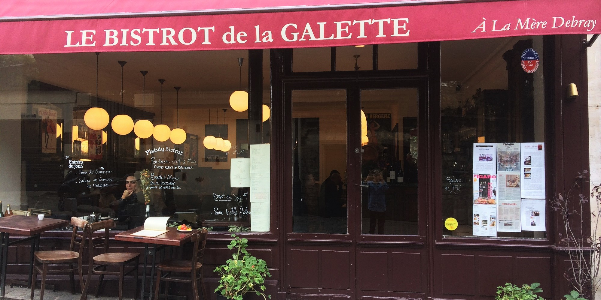 Brunch Le Bistrot de la Galette (75018 Paris)