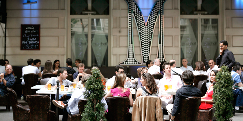 Brunch Music Hall - L'ensoleillée terrasse (75008 Paris)