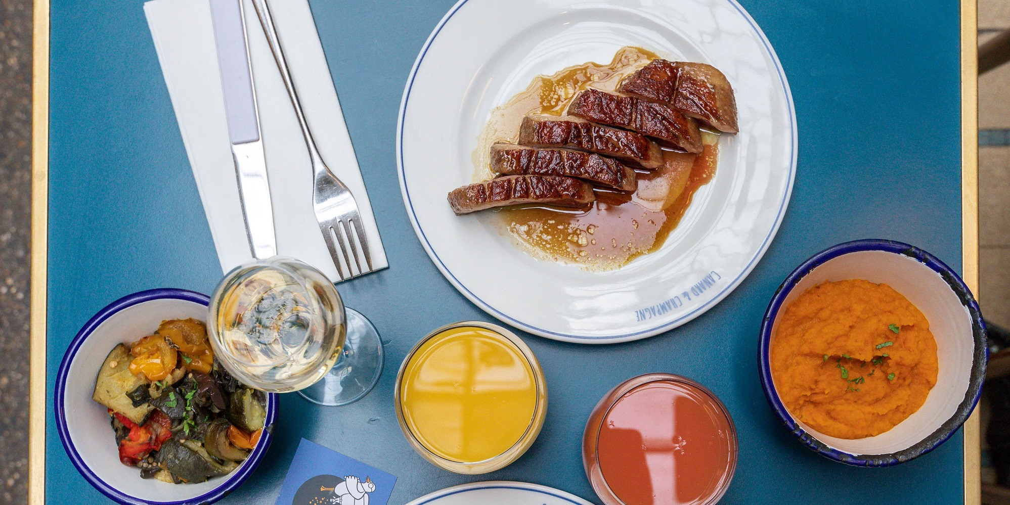 Brunch Canard et champagne (75002 Paris)