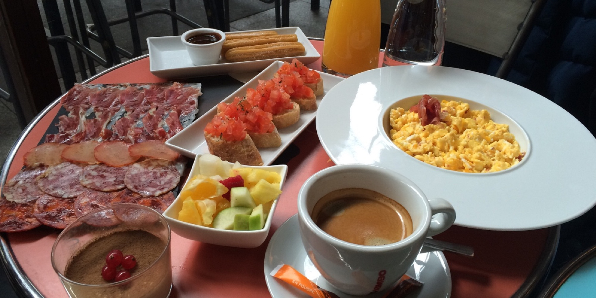 Brunch Jamon Jamon (75012 Paris)