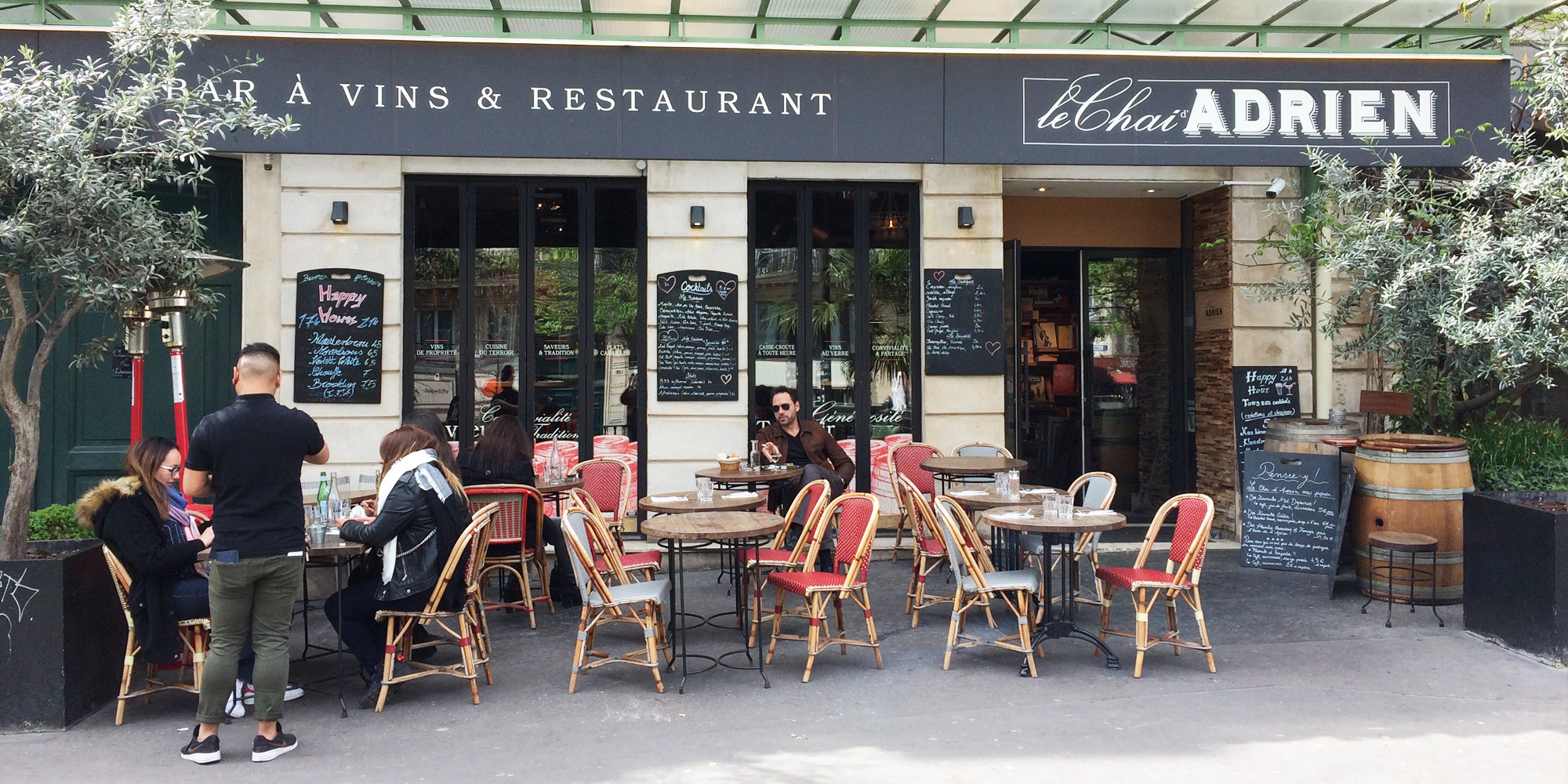 Brunch Le Chai d'Adrien (75003 Paris)