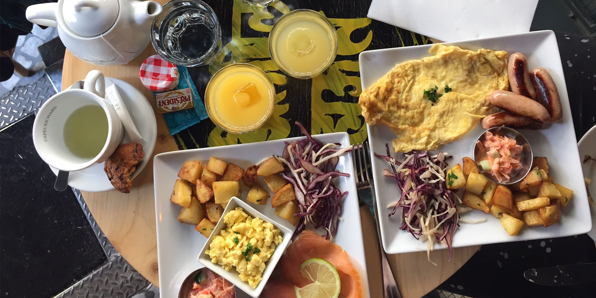 Brunch Le Cinquante Huit (75002 Paris)