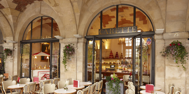 Brunch Carette Place des Vosges (75003 Paris)