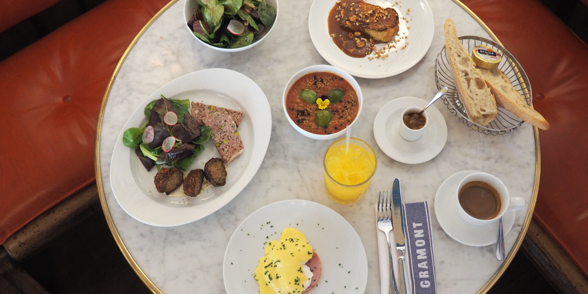 Brunch Le Gramont (75002 Paris)