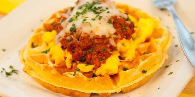 brunch Los Angeles Bru's Wiffle A Waffle Joint brunch