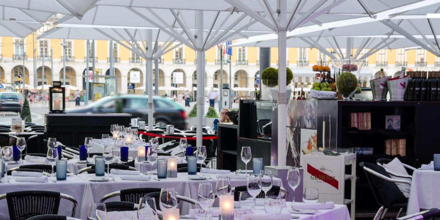 Lisbonne Aura Lounge Café brunch