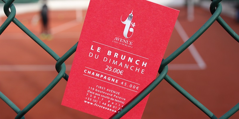 Brunch First Avenue (75017 Paris)