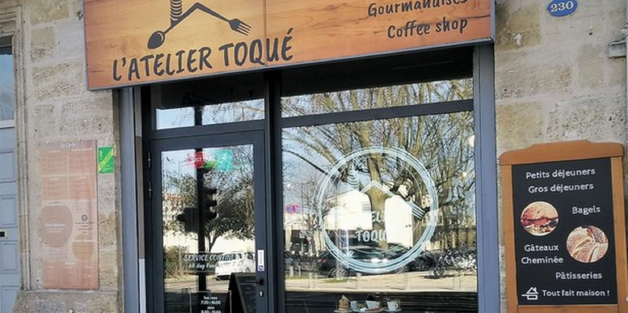 Brunch l'Atelier Toqué (33000 Bordeaux)