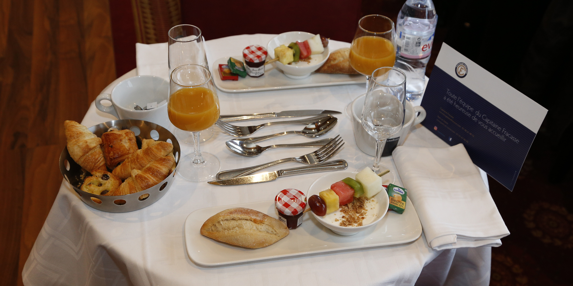 Brunch Bateau Le Capitaine Fracasse (75015 Paris)