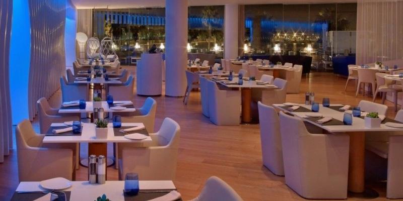 Barcelona Hotel W brunch