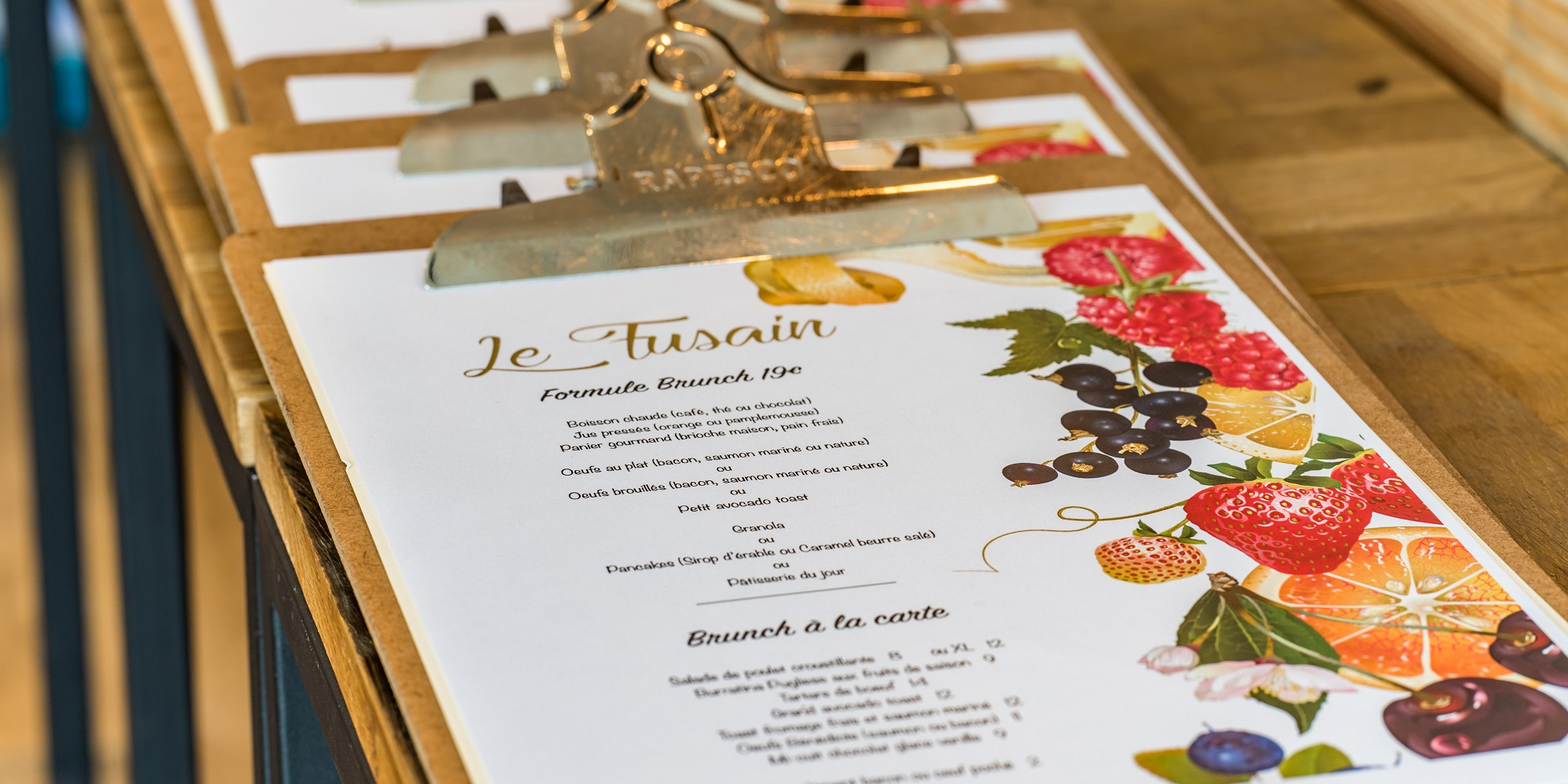 Brunch Le Fusain (75018 Paris)