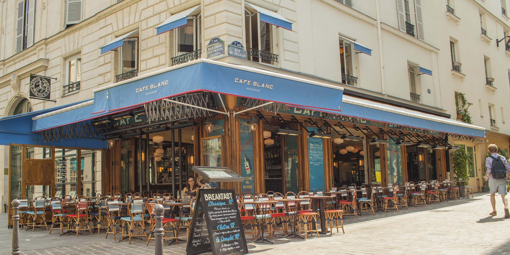 Brunch Café Blanc (75001 Paris)